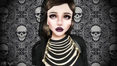 Octoberesque (cddly wale (New)) Tags: vco truth secondlife second life gacha gothic halloween autumn fall spooky