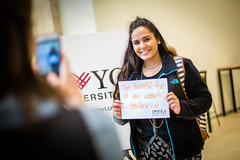 2016 Giving Tuesday (Loyola University Chicago) Tags: adv1640 givingtuesday loyolagives schreibercenter wtc give studentlife cards