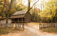 Unsophisticated autumn. . . (Irina1010) Tags: cabin mountains smokymountains cadescove autumn rural settlements oldtimes canon light shadows rustic