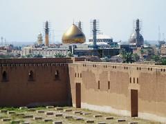Al-Askari Mosque (D-Stanley) Tags: alaskari mosque samarra baghdad iraq tombs imams shia pilgrims terrorist bombs dome minarets