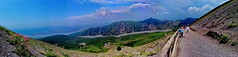 Vesuvio, walking to the top (gerard eder) Tags: landscape landschaft paisajes world travel reise viajes italy italien italia campania naples napoli neapel vesuvio volcano vulkan volcn