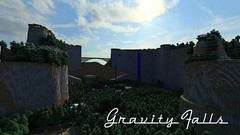 Gravity Falls Exploration Map 1.10.2/1.9.4 (TonyStand) Tags: minecraft game gaming 3d