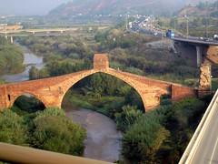260 from Monserrat Monastry (saxonfenken) Tags: bridge ancient spain catalonia thechallengefactory 1002s 1002 pregamewinner perpetual