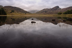 Lingmoor Fell (Neil W2011) Tags: nikon d7200 landscape lakedistrict cumbria nationalpark bleatarn lingmoorfell refelections reflections dawn clouds
