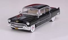 1955 Cadillac Fleetwood Serie 60 Special (Jeffcad) Tags: cadillac 1955 fleetwood serie 60s sixty special greenlight scale model die cast fins dagmars godfather diecast 143 fifties 50s car