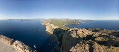 Panorama Capo Rosso (Picturethescene) Tags: tourism corse tourisme corsica seascape sea summerholidays summer hiking capo rosso calanches piana sunset panorama panoramique panoramicview hill