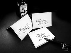 Random Name ! (Jerome Decanter) Tags: calligraphy handwriting ecriture dippen noir et blanc monochrome texte criture