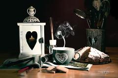 Tea cup (Diego Pianarosa (aka Pinku)) Tags: diegopianarosa pinku vapore stilllife torta tea cake