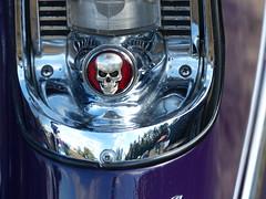 56CRUZR CarArt (bballchico) Tags: 1956 chevrolet dragcar racecar 56cruzr streetrod arlingtoncarshow carshow 1960s carart skull 206 washingtonstate arlingtonwashington