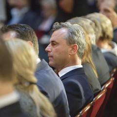 Wahlkampfabschluss von #bpw16 Kandidat Norbert Hofer #fpö (daniel-weber) Tags: norbert hofer bpw16 bundespräsidentenwahl wahlkampf abschluss börse wien vienna fpö bundespräsident