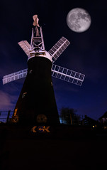 Moon on the mill