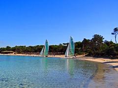 Playa de Es Trenc, Mallorca, Spanien (Anne O.) Tags: 2015 balearischeinseln migjorn spanien panoramio6954847125646875