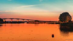 Landscape with the buoy and Oland bridge II (Paweł Szczepański) Tags: kalmar kalmarlän sweden se extraordinarilyimpressive trolled sonyflickraward pinnaclephotography legacy shockofthenew