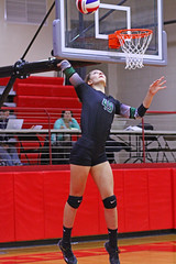 IMG_2463 (SJH Foto) Tags: golden budda by clive cussler part 25 girls volleyball high school northstar holy redeemer team teen teenager serve burst mode