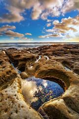 Hidden Treasure (lahorstman) Tags: lajolla hospitalreef pacificocean seascape sandiego california canon leefilters lahorstmanphotography leahhorstman tidepools clouds