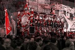 Coffin that never was... (Fortunes2011.) Tags: fortunes2011nikond80chelumarbaeen40thimamhussainkarachi fortunes2011nikond80chelumarbaeen40thimamhussainkarachipakistanancholi coffin shia islam tradition religion emblem flag karbala