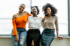 IMG_6696 (sabrinafvholder) Tags: women black african american natural hair ors commercial tea drinking girlfriends