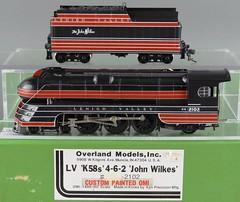 EHIGH VALLEY K5B 4-6-2 STREAMLINED PACIFIC - - THE JOHN WILKES - BY OMI/AJIN HO SCALE BRASS (bslook1213) Tags: streamlined streamliner streamline ho brass steam locomotive 462 pacific omi ajin korea model railroading trains googlebingyahooimagespicturesbrassmodeltrainssteammodelrailroadingoscale googalimagesyahoo flickriverflickrhiveflickrmind