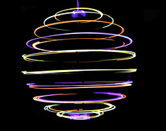 Rotation (wilstony1) Tags: rotating lights suspended slow shutter speed canon eos650d abstract artistic