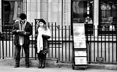Double Visions (jaykay72) Tags: london uk street candid streetphotography londonist bishopsgate stphotographia blackandwhite bw