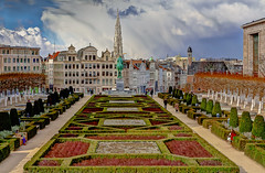 "Autumn in the city... ""Mont des Arts"" Brussels (capvera) Tags: autumn city automne bruxelles brussels kunstberg"