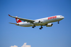 Swiss International Air Lines Airbus A330-343X (Marcellinissimo) Tags: swiss airbus zurichairport zrh lszh a330343x hbjhk