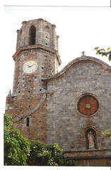 Spain  June 13th-24th.1989 (Cynthia of Harborough) Tags: architecture towers churches 1989 towns clocks clocktowers
