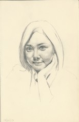 10-21-12 (Stephen Ford art) Tags: portrait pencildrawing