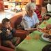 Rencontre intergénérationnelle à la maison de retraite de la côte d'Amour