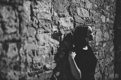 Chloe (beura) Tags: street ireland portrait irish girl night photography model downtown photographer creative slowshutter nikkor tipperary clonmel 50mmf14 highiso blackdress lighttrail nikond800