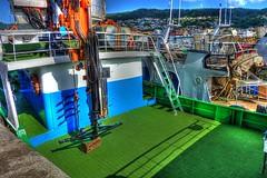 Cubierta (Fotero) Tags: viaje puerto barcos galicia vacaciones hdr bueu