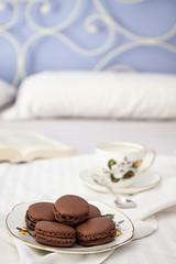 Macarons (Cristina Buldrini) Tags: food cooking breakfast recipe bed break chocolate pasta cibo cioccolato cucina dolci ricetta macarons foodphotography canon50d