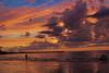 Playa. (Ariel NZ) Tags: sol playa cielo nubes pesca naranja tarde piriapolis mygearandme galleryoffantasticshots