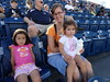 Jalila with her girls (Aggiewelshes) Tags: august vivian cailin usu 2013 jalila romneystadium usufootball aggiefamilyfunday