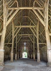 Great Coxwell Barn - interior (peter orr photography) Tags: uk england building barn objects historic oxfordshire locations coxwell greatcoxwellbarn landscapesandbuildings