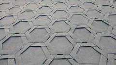 Blue Hex Weave (Tom Crain Origami) Tags: origami tessellations origamitessellations