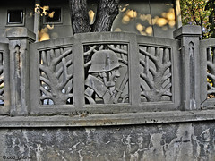 Fence in Veliko Tarnovo (cod_gabriel) Tags: fence helmet fences bulgaria gard bulgarie velikotarnovo bulgarien velikoturnovo bulharsko bulgaristan germansoldier   germanhelmet bulgria velikotrnovo    garduri   velikotrnovo   welikotarnowo trnova       velikotrnovo