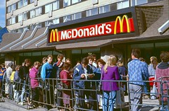 McDonald's has come to Moscow (Normann) Tags: russia moscow mcdonalds ussr