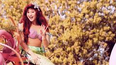 Ariel | Soundsational (chris.alcoran) Tags: world street sea ariel girl smile st canon mouse photography kiss princess little disneyland main under 85mm sigma disney mickey parade part your mermaid 70300mm mickeys soundsational