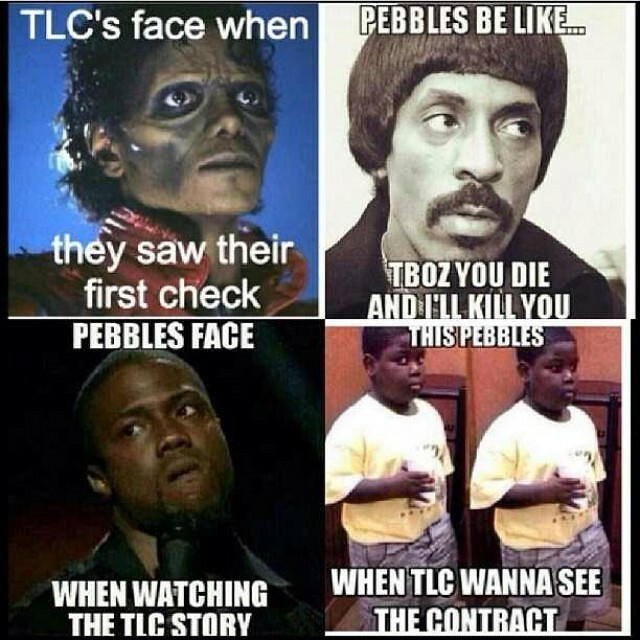 The TLC movie was inspiring, informative and entertaining; good job to the entire cast. Hope you new artist learned a lesson!   Buuuuttttt these were all over lastnight and this morning and are still funny lol!! All in good humor. Pic rp from @misscaesar