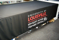 Table Cover | Signarama Louisville Downtown, KY | University of Louisville