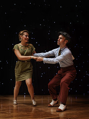 ESDC 2013 - William Mauvais and Maeva Truntzer (Eric Esquivel) Tags: dance couple jazz swing hop lindyhop lindy socialdancing