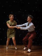 ESDC 2013 - William Mauvais and Maeva Truntzer (Eric Esquivel) Tags: dance couple jazz swing hop lindyhop lindy socialdancing