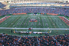 NFL Bengals Half-Time 10-27-2013 - 22 (MarchingCards) Tags: music brown college cup cards paul drums photo football university cardinal photos drum stadium cincinnati nfl band trumpet flute sugar marching louisville marchingband horn bengals tuba brass ul clarinet cardinals bugle uofl louisvillecardinals cmb mellophone foodball universityoflouisville 2013 marchingcards cardinalband cardinal cardinalmarchingband uofl