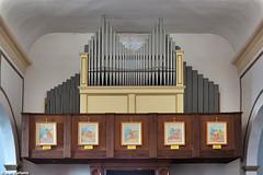 Montagnana, Chiesa di Borgo Frassine. Malvestio / Norbiato (Ivan Furlanis) Tags: pipe organ organo orgel canne orgue tuyaux pfeifen