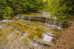 Au Train Falls (nikons4me) Tags: autumn up fallcolor michigan falls waterfalls upperpeninsula autrain autrainfalls nex7 sony1855mmf3556oss