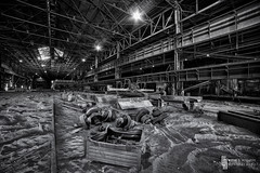 Toys In The Sandbox (billmclaugh) Tags: ohio mill abandoned industry demolish photoshop canon rust iron industrial steel urbanexploration furnace hdr highdynamicrange blaster ue molten lightroom urbex 1635mm photomatix viveza promotecontrol 5dmiii