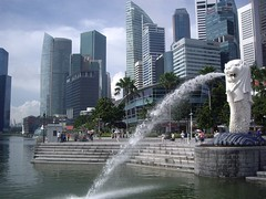 Merlion & One Fullerton (Bootnecks) Tags: singapore marinapark marinabay merlionpark singaporemerlion