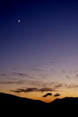 Ronda (-Patri-) Tags: sunset sky espaa cloud sun moon sol clouds atardecer star andaluca spain luna cielo nubes andalusia puesta estrella nube lucero andalus
