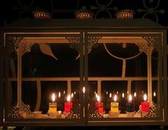 Hanukkah - 6th night (Brian Negin) Tags: jerusalem hanukkah chanukkah menorah hanukkiah menora jewishholidays chanukkiah uploaded:by=flickrmobile flickriosapp:filter=nofilter